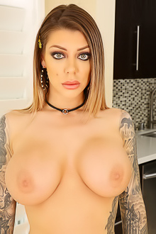 Tattooed Bombshell Karma Rx In Dick Ass-to-mouth